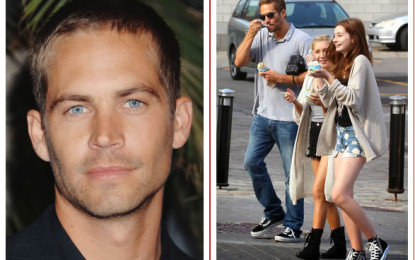 Paul Walker leaves entire $25 million fortune to his 15yr old daughter