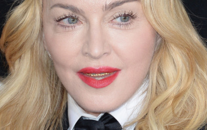 Madonna Attempts to Tap Into the Fountain of Youth With Harsh Makeup, Hair and a Gold Grill