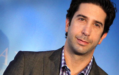 Ross to the rescue! Friends star helps police solve a crime!