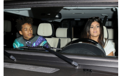 Kylie Jenner made out with Jaden Smith at Kimye's wedding!