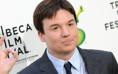 Mike Myers was urinated on during a soccer match