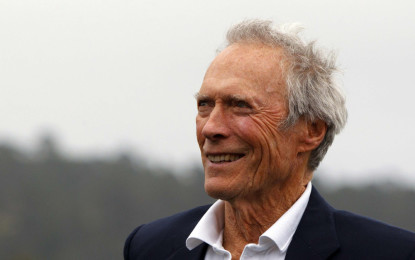 Clint Eastwood reportedly has a new girlfriend and she's already moved in