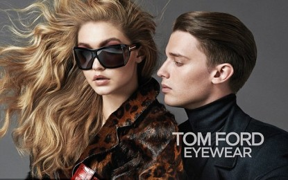 Arnold Schwarzenegger's son in new Tom Ford Eyewear campaign