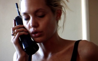 Drug dealer releases haunting video of Angelina Jolie as a drug addict