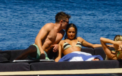 Zac Efron and Michelle Rodriguez Caught Kissing During Romantic Vacation