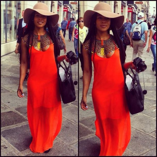 Jozi Gist — Nomzamo Mbatha in Paris with over 20 marriage...