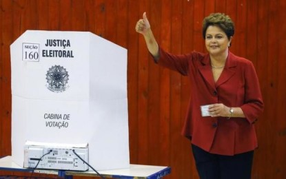 Brazil President Dilma Rousseff re-elected for second term