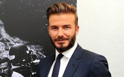 David Beckham voted Britain's favourite tattooed star