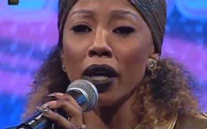 Kelly Khumalo's first performance since Senzo's death