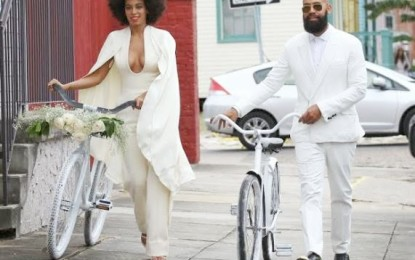Solange Knowles tied the knot with her longtime love Alan Ferguson