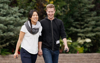 Mark Zuckerberg made anniversary video for his wife and put it on Facebook