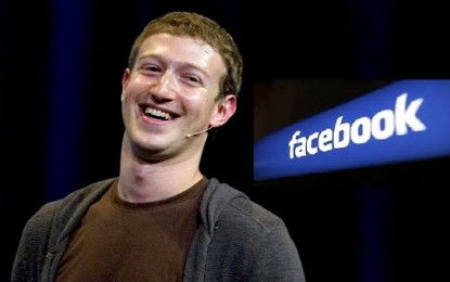 Facebook CEO Mark Zuckerberg's New Year resolution
