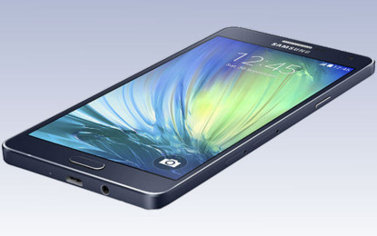 Samsung launches extremely thin Galaxy A7 smartphone