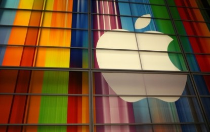 Apple reports the biggest quarterly profit in history