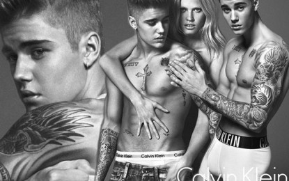 Justin Bieber unveiled as the new face of Calvin Klein underwear