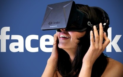 Facebook is working on virtual reality apps for social experiences