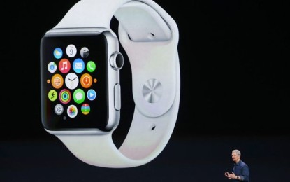 Apple unveils the long-awaited iWatch
