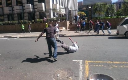 MUST SEE!!!, foreign Nationals fighting back in Johannesburg