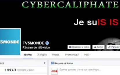 French TV network TV5Monde hacked by group claiming ISIS ties