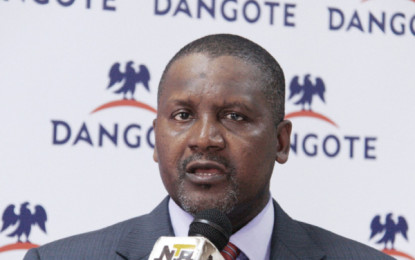 West Africa's Dangote Group Enters Joint Venture With Italian Giant Saipem