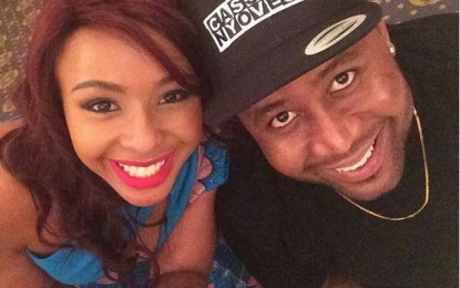 Boity and Cassper the love back
