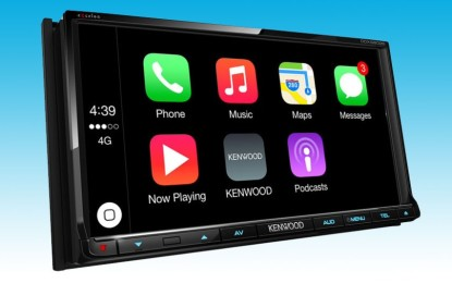 Kenwood launches CarPlay and Android Auto touch dashboard
