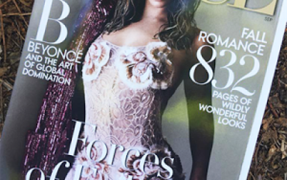 Beyonce stuns on the Covers of Vogue magazine
