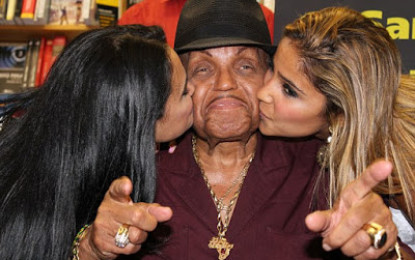 Michael Jackson's father suffered stroke after 'taking three Viagras' in Brazil