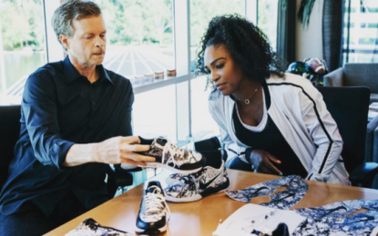 Serena Williams launches new sneakers Collection with Nike