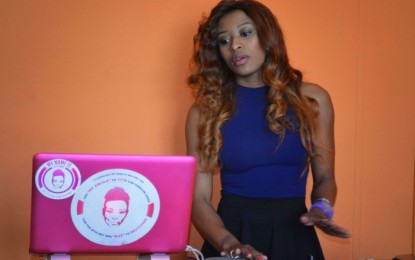 DJ Zinhle makes Bonang apologize for playlist for the day