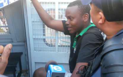 Frank Chikane's son and 5 others arrested by police at #FeesMustFall protest
