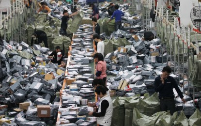 Alibaba smashes sales record for China's Singles' Day with $9.3 billion in 12 hours