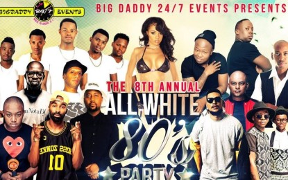 The 8th Annual All White 80'S Party
