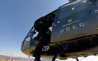 Uber will offer chopper service in India for Christmas