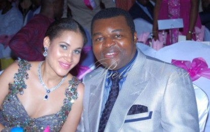 Caroline Danjuma fights with her husband's reported mistress and it's getting serious