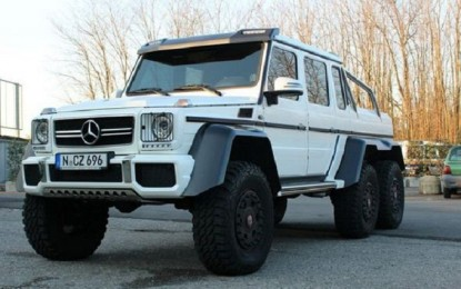 The car Sulley Muntari bought for a whopping $900,000 – Mercedes G63 AMG 6×6