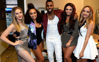 Little Mix & Jason Derulo Perform 'Secret Love Song' Together for the First Time
