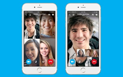 Skype add free group video calling to its mobile apps