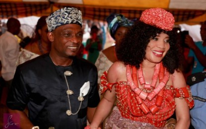 Monalisa Chinda marries the new love of her life at a beautiful traditional ceremony