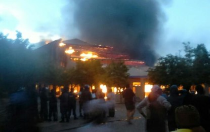 North West University in flames as student protests heat up