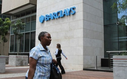 SA Confidence suffers as Barclays prepares to exit