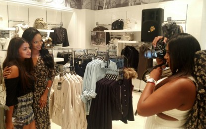 Former Miss South Africa Liesl Laurie Launches Forever New Store in the East of Johannesburg