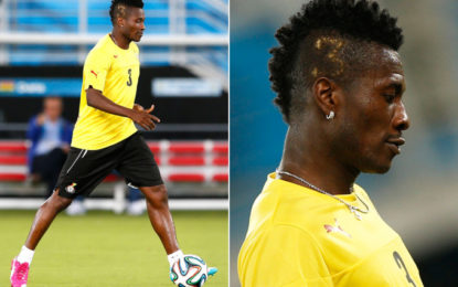 Black Stars captain Asamoah Gyan named among top 20 richest footballers in the world