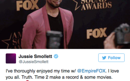 Jussie Smollett remains on Empire, his character isn't dead