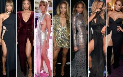 Ciara steps out in jaw-dropping outfits at hosts Billboard Music Awards