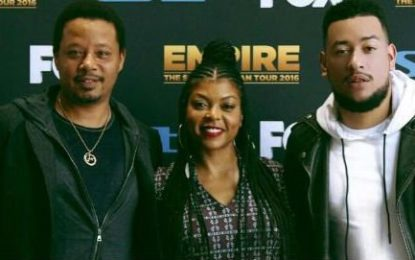 AKA charms Empire star Cookies and Lucious Lyon