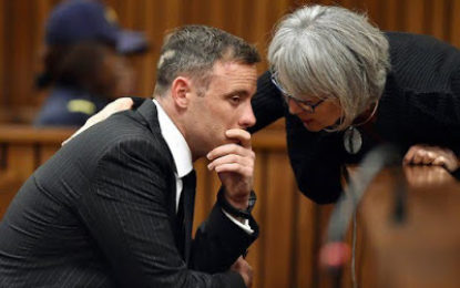 Oscar Pistorius: Psychologist tells court 'he's a broken man' who shouldn't be jailed'