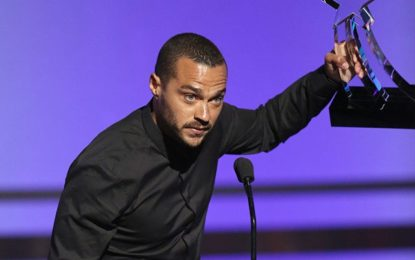 Jesse Williams BET acceptance speech moved audience to tears