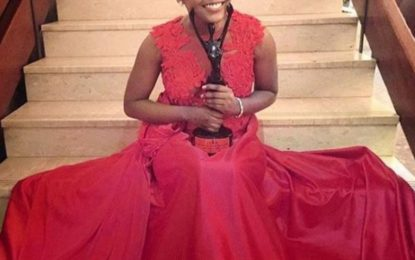 Fulu Mugovhani bags Award for BEST ACTRESS at the AMAA 2016