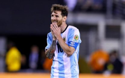 Lionel Messi retires from Argentina after Copa America final loss to Chile